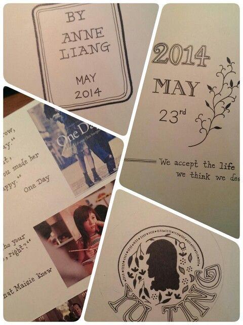 Birthday book for my friend.