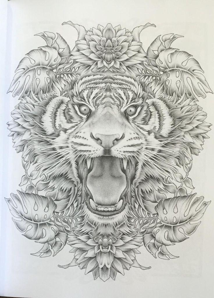 Colour My SketchBook Greyscale Colouring Book Volume Bennett Klein