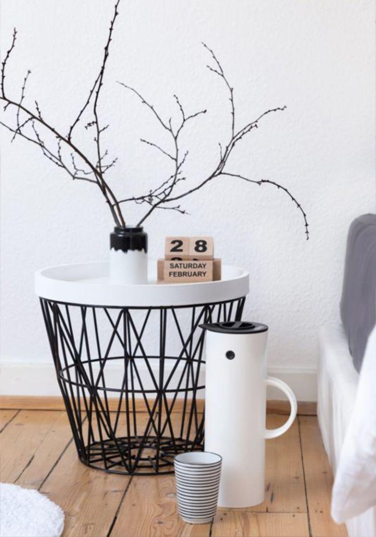 Draadstaal: luchtig én ruimtelijk voor in je interieur