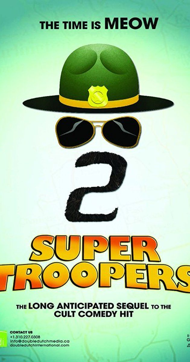 Directed by Jay Chandrasekhar. With Emmanuelle Chriqui, Rob Lowe, Lynda Carter, Brian Cox. When a border dispute arises between the U.S. and Canada, the Super Troopers are tasked with establishing a Highway Patrol station in the disputed area.