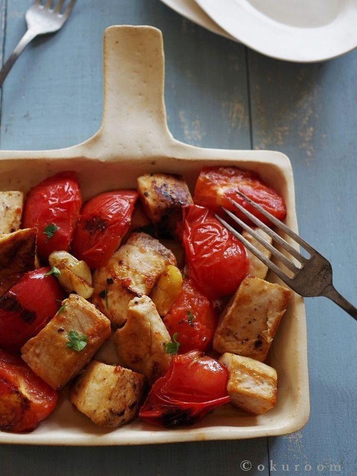 めかじきとトマトのニンニク風味 by ささき 礼奈 | レシピサイト「Nadia | ナディア」プロの料理を無料で検索