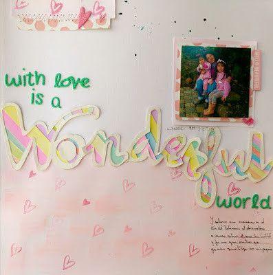 Wonderfull World by ClaudiaFuentes at Studio Calico