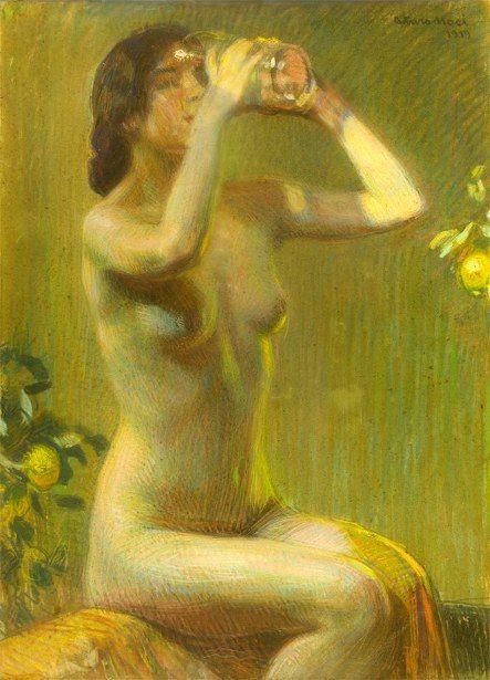 Summer Arturo Noci (1874 – 1953, Italian)