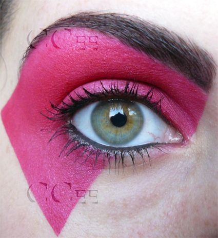 Jem make up style for halloween costume