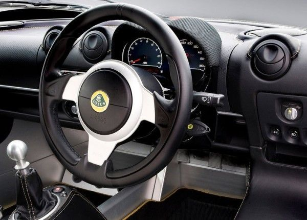 2014 Lotus Exige LF1 cockpit