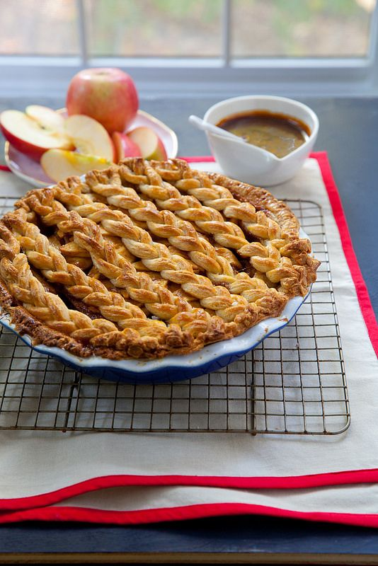 Create the perfect pair of sweet and salty with this recipe for Salted Caramel Apple Pie!