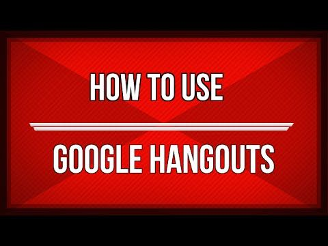 How to Use Google Hangout | The Google Voice and Video Chat Tool