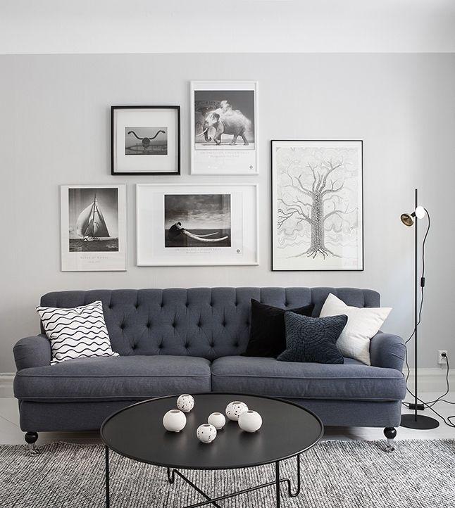 A home in blue - via cocolapinedesign.com