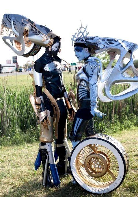 Styria and Nix Final Fantasy XIII
