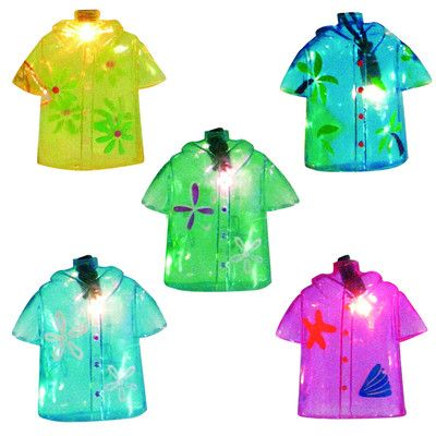 Brite Star 10 Piece Tropical Beach Shirt Novelty Summer Patio and Christmas Light Set