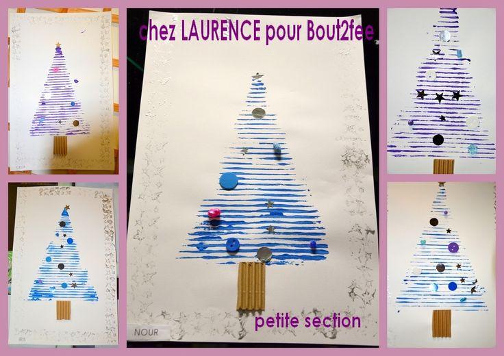 peinture d'un triangle et carton ondulé et empreinte, collage de divers objets