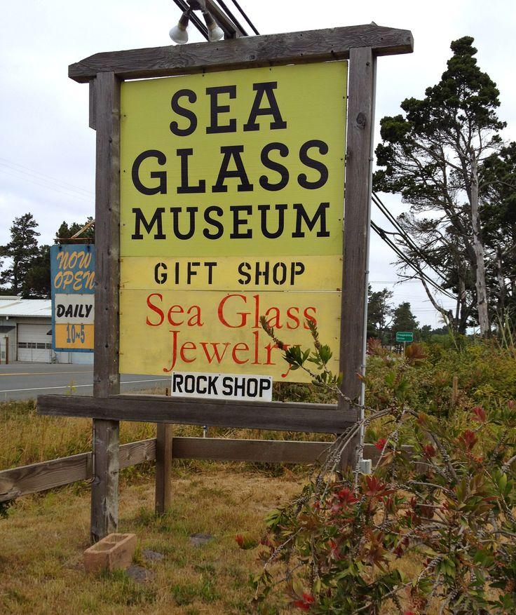 Sea Glass Museum Fort Bragg, California