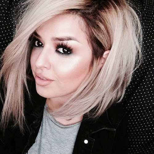 If I ever decide to cut my hair short again! Ombre Style Hair Color for Blonde