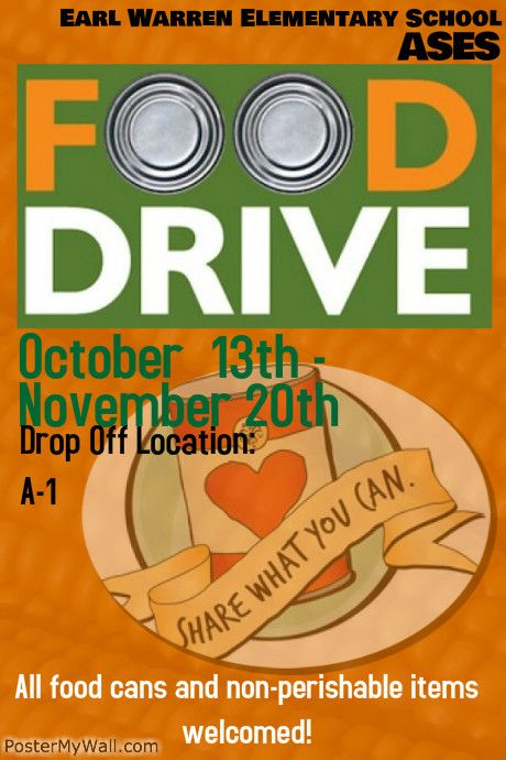 Food Drive                                                                                                                                                                                 More