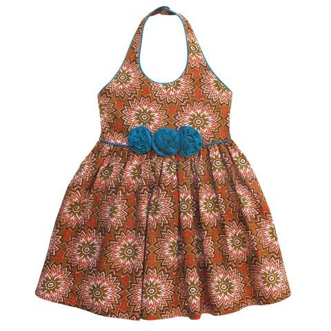 little girls heaven 'little miss africa' dress by designer Tracey Kociuruba