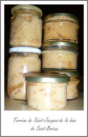 Panier de Noël : Terrine de noix de Saint-Jacques , conserve