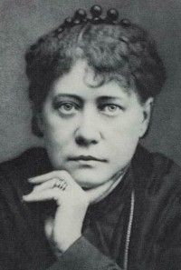 Madame Helena Petrovna Blavatsky, founder of the Theosophical Society (1877)