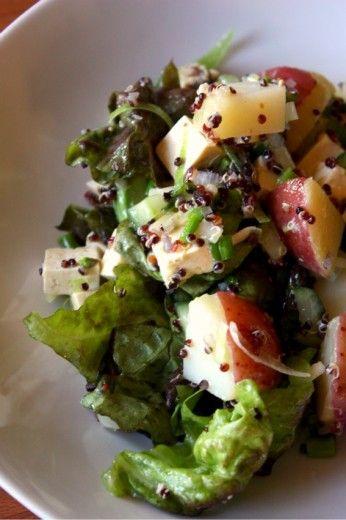 My Mostly Not Potato Salad | Salad | Pinterest