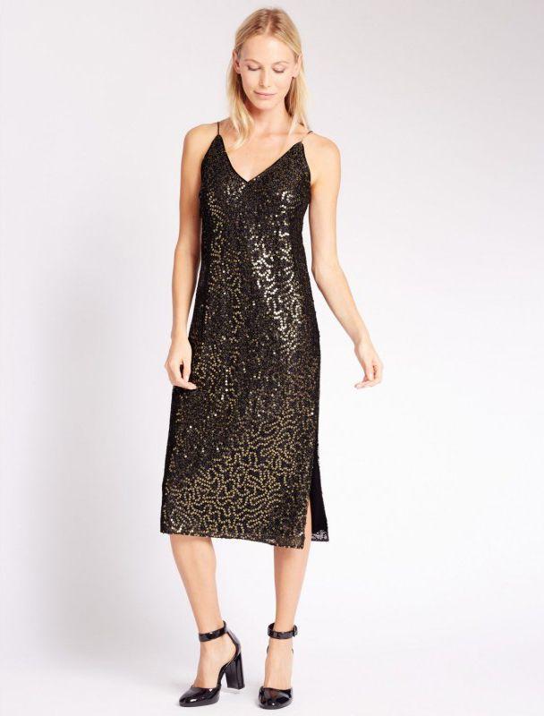 Robe en sequins Marks and Spencer - 74,95€