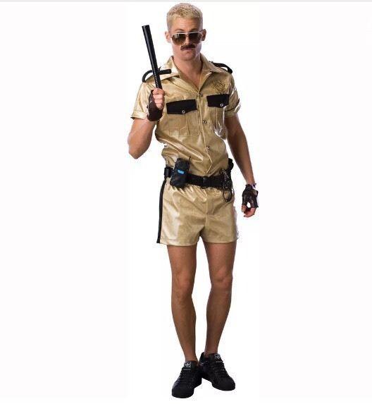 Reno 911 Deluxe Lt Dangle Adult Halloween Costume 44 Std | eBay