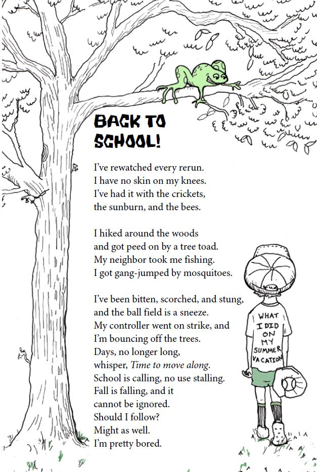 19 best uil oral reading images on pinterest funny poems for sara holbrook back to school poemgreat for inferencing fandeluxe Images