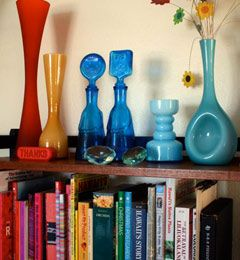Colorful way to organize!