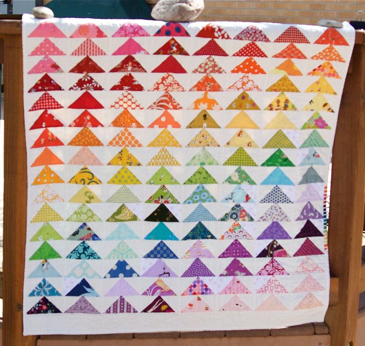 866 best RAINBOW QUILTS images on Pinterest   Rainbow quilt ... : top quilting blogs - Adamdwight.com
