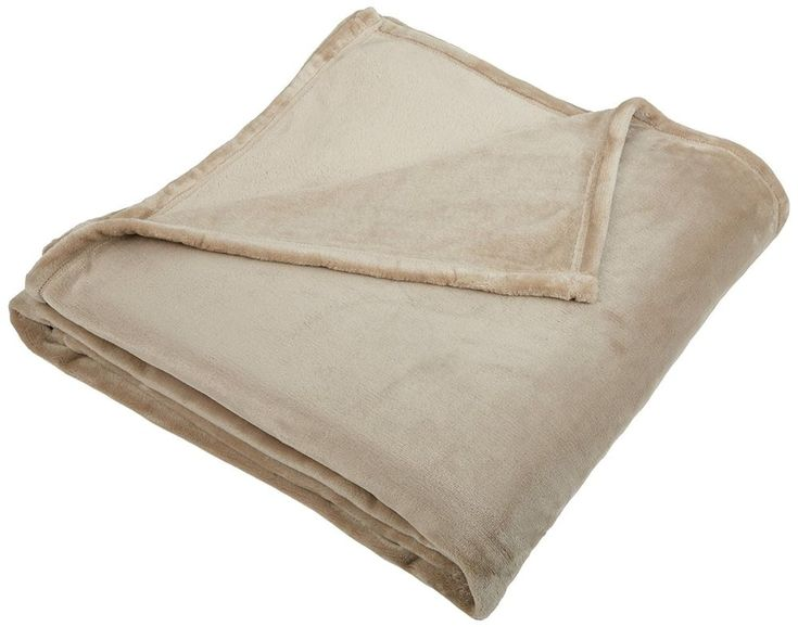 Pinzon King Size  Blanket sand color  #Pinzon #Elegantvelvetplush