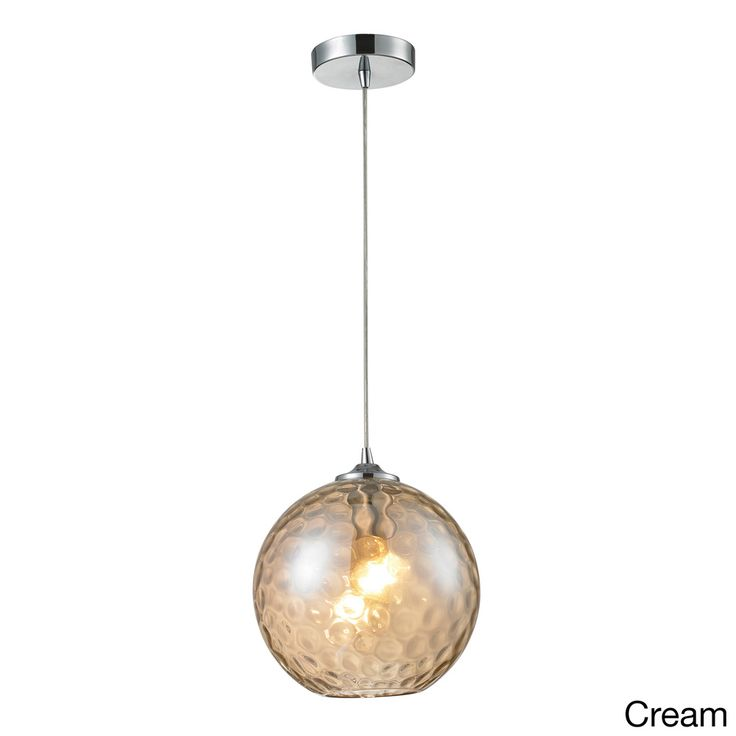 Elk Lighting Watersphere 1 Light Polished Chrome Pendant Ping Great Deals