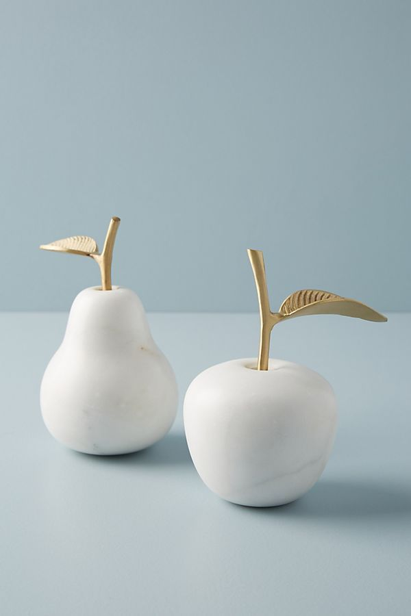 Marble Fruit Decorative Object