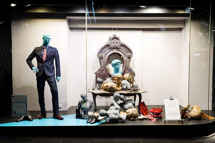 David Jones Window by @azbcreative