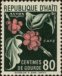 Stamp: Coffee (Haiti) (Country products) Mi:HT 383