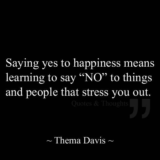 how to say no after saying yes