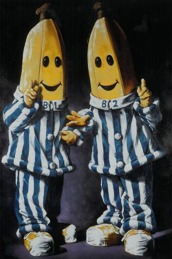 Bananas in Pyjamas portrait by Evert Ploeg