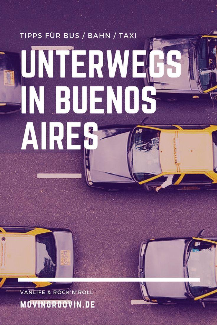 Unterwegs in Buenos Aires – meine Tipps für Bus/Bahn/Taxi. Die bunte Hauptstadt von Argentinien hat so viel zu bieten, nur ist es manchmal nicht so einfach, von A nach B zu kommen. Hier erfährst du meine Tipps, die ich in 3 Jahren Buenos Aires gesammelt habe. :)
