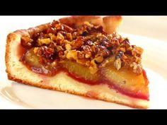 Изумительно вкусный СЛИВОВЫЙ ПИРОГ с хрустящими орешками - YouTube