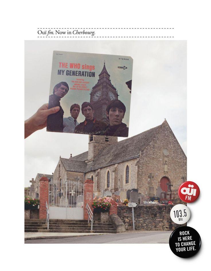 Read more: https://www.luerzersarchive.com/en/magazine/print-detail/oufm-paris-49102.html Ouïfm,  Paris Campaign for Oui FM – La Radio Rock, a station that can now be received in towns all over France. Tags: Stephane Richard,Gabriel Gaultier,Leg, Paris,Caroline Lorin,Ouïfm,  Paris,Matthieu Raffard
