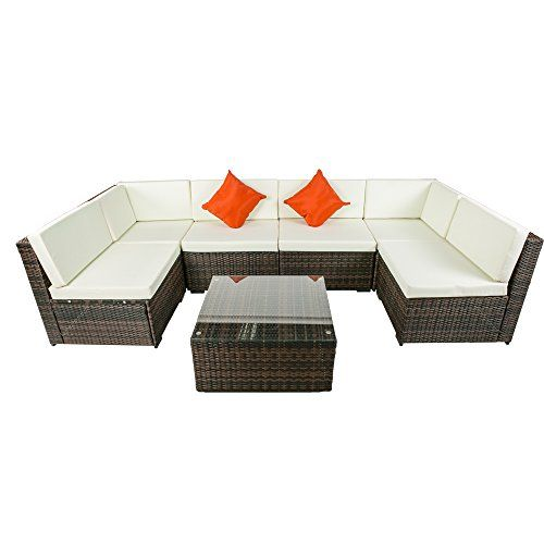 Superb Life Carver rattan corner sofa corner rattan sofa set seater Garden Furniture Corner Sofa and