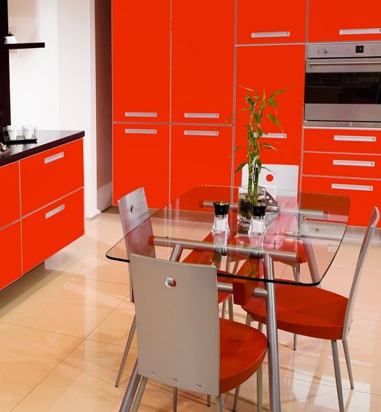 All Red Kitchen 123 best colour at home: red images on pinterest   red accents