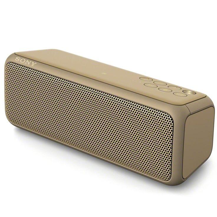 ขาย<SP>Sony Extra Bass Bluetooth Speaker รุ่น SRS-XB3 (ฺBrown)++Sony Extra Bass Bluetooth Speaker รุ่น SRS-XB3 (ฺBrown) (1 รีวิว) ลำโพงบลูทูธที่มาพร้อมกับระบบเสียง Extra Bass แบตเตอรี่ใช้งานได้ยาวนานต่อเนื่องถึง 24 ชั่วโมง ตัวลำโพงกันน้ำ ทำให้คุณสนุกกับปาร์ตี๊ได้ม ...++