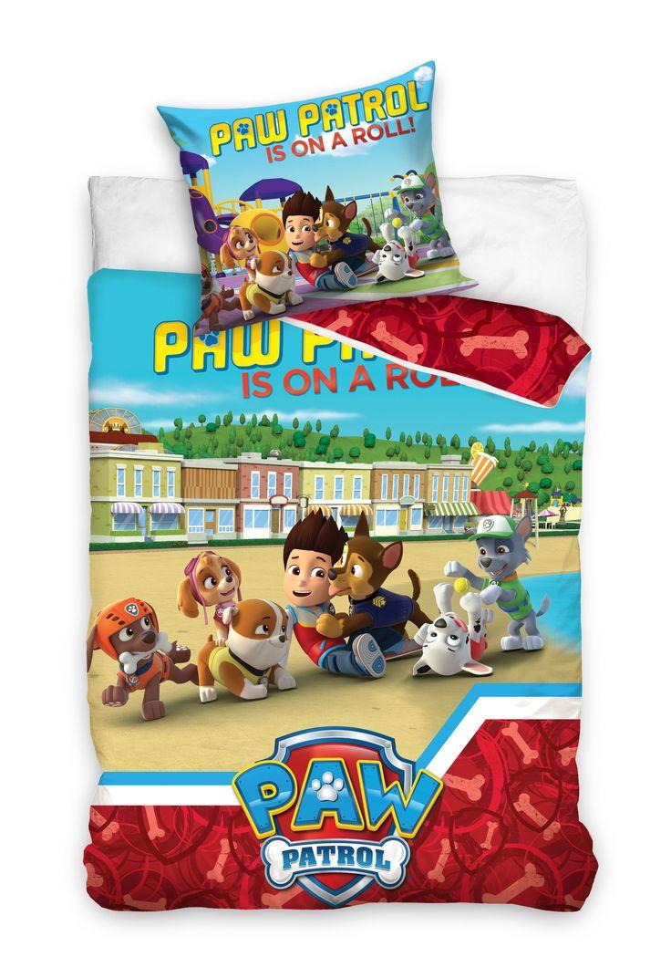 Kolorowa pościel dla dzieci z Paw Patrol