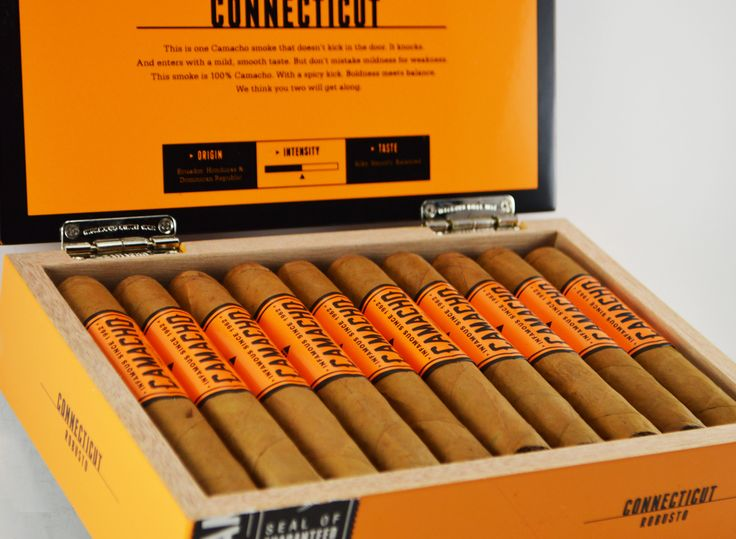 Cigar Deal: Buy Camacho Cigars and receive a Camacho Connecticut Robusto 4 Pack!   - $103.95
