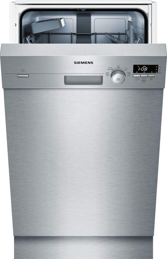 Siemens Sr415s03ce Iq100 Unterbaugerat Speedmatic 45 Geschirrspaler Edelstahl Geschirrspuler Geschirr Unterbau Geschirrspuler