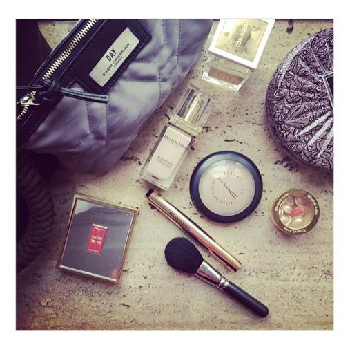 Carry your cosmetic essentials in a Day Gweneth Beauty bag like Christiane Schaumburg-Müller.
