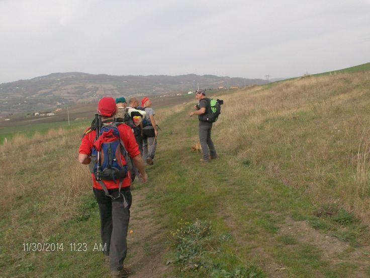 Trekking d'autunno sul tratturo Pescasseroli-Candela, località Casalbore (AV)