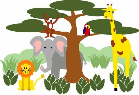 School Theme Border Clipart Learn About Their Animal