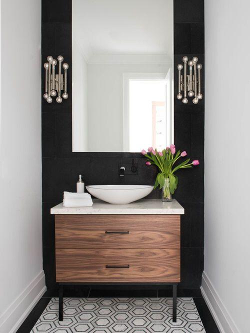 Best 25 Pedestal Sink Bathroom Ideas On Pinterest Pedestal Sink Half Bath  Remodel And Small Pedestal Sink