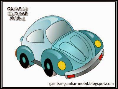 foto kartun mobil vw