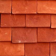 Classic Georgian Handmade Clay Roof Tile