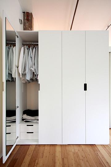 clean, simple, storage
